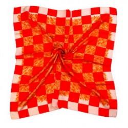 Hedvábný šátek 100% SILK 90ST01E