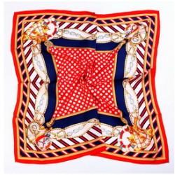 Hedvábný šátek 100% SILK 90ST02D