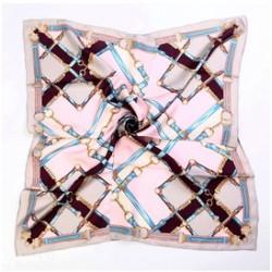 Hedvábný šátek 100% SILK 90ST010C