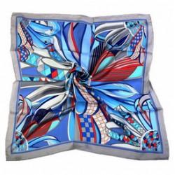 Hedvábný šátek 100% SILK 90ST011A