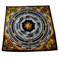 Hedvábný šátek 100% SILK 90ST018A