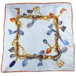 Hedvábný šátek 100% SILK 90ST020A