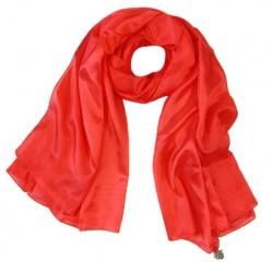 Hedvábný šátek 100% SILK DSPA07