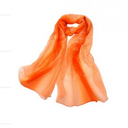 Hedvábný šátek 100% SILK ERSS06A