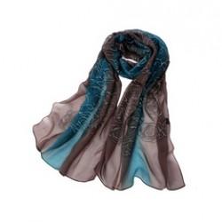 Hedvábný šátek 100% SILK ERSS06D