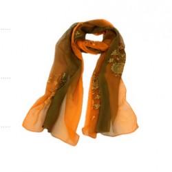 Hedvábný šátek 100% SILK ERSS08A