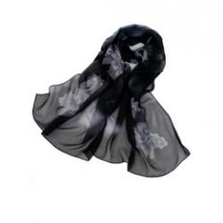 Hedvábný šátek 100% SILK ERSS010B