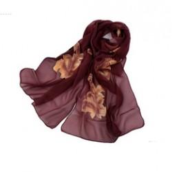 Hedvábný šátek 100% SILK ERSS010C