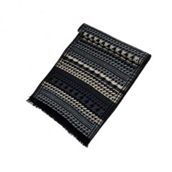 Zimní Hedvábný šátek pánský 100% SILK MWSS034