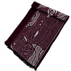 Zimní Hedvábný šátek pánský 100% SILK MWSS042