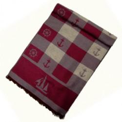 Zimní Hedvábný šátek pánský 100% SILK MWSS043