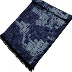 Zimní Hedvábný šátek pánský 100% SILK MWSS046