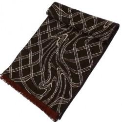 Zimní Hedvábný šátek pánský 100% SILK MWSS047