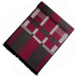 Zimní Hedvábný šátek pánský 100% SILK MWSS052