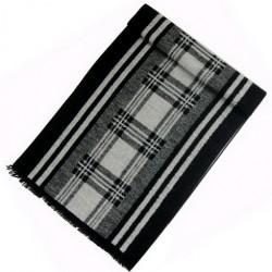 Zimní Hedvábný šátek pánský 100% SILK MWSS060