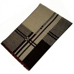Zimní Hedvábný šátek pánský 100% SILK MWSS065