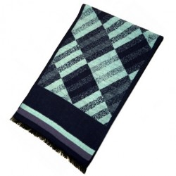 Zimní Hedvábný šátek pánský 100% SILK MWSS070