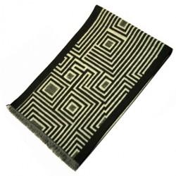 Zimní Hedvábný šátek pánský 100% SILK MWSS075