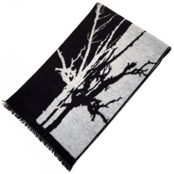 Zimní Hedvábný šátek pánský 100% SILK MWSS076