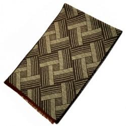 Zimní Hedvábný šátek pánský 100% SILK MWSS077