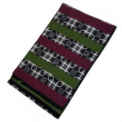 Zimní Hedvábný šátek pánský 100% SILK MWSS078