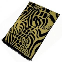 Zimní Hedvábný šátek pánský 100% SILK MWSS086
