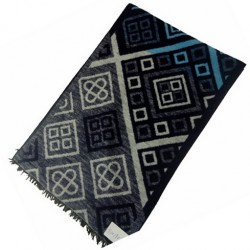 Zimní Hedvábný šátek pánský 100% SILK MWSS091