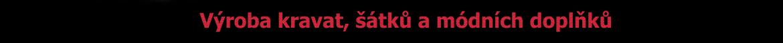 Logotex - výroba kravat, šátků a módních doplňků